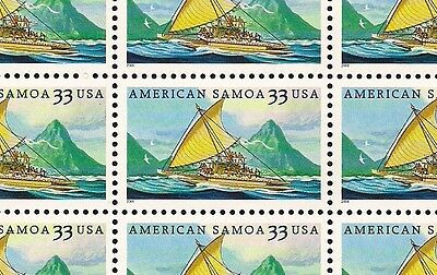 2000 - AMERICAN SAMOA - #3389 Full Mint -MNH- Sheet of 20 Postage Stamps