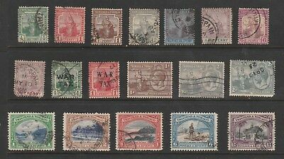 Trinidad And Tobago 1909-1938 Small Selection Of Fine Used Stamps