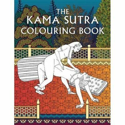 The Kama Sutra Colouring Book (Colouring Books) - Paperback NEW Anon (Author) 30