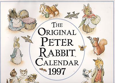 Peter Rabbit Calendar 1997 - Or 12 Pictures To Frame For The Nursery!