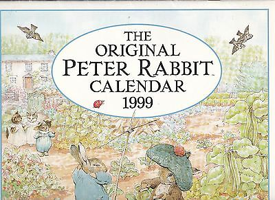 Peter Rabbit Calendar 1999 - Or 12 Pictures To Frame For The Nursery!