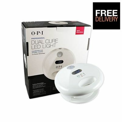 Opi Gel Gelcolor Studio Led Dual Cure Light Curing Lamp - Uk Seller
