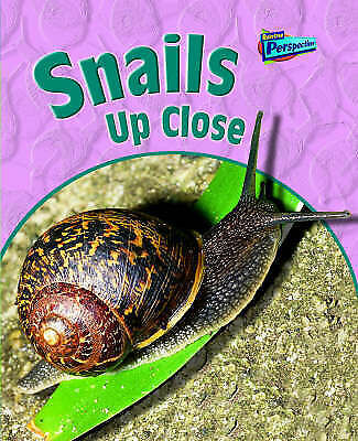 Snails Up Close (Raintree Perspectives: Minibeasts Up Close) by Pyers, Greg