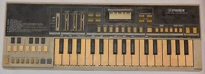 Vintage Keyboard Fisher SCK-30 Composer for SC-300 Boombox AS IS PLEASE READ !!