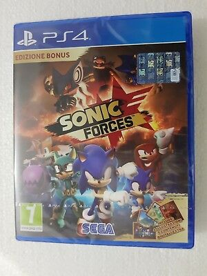 Ps4 Sony Playstation 4 Sonic Forces Sealed