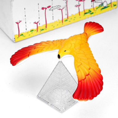 Balancing Bird + Pyramid Magic Physics Science Enlightenment  Funny Kid  Toy