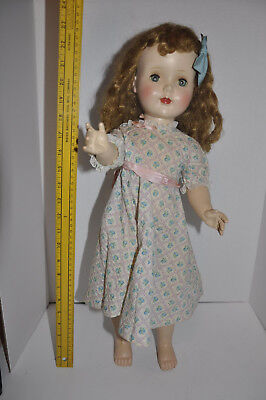 "Vintage 1950 American Character Doll Sweet Sue 24"" Walker W Sleep Eyes Beautiful"
