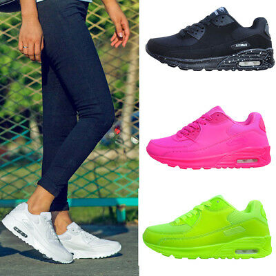 Women's Breathable Sport Shoes Running Sneakers Trainers Walking Athletic Shoes