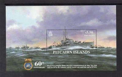 Pitcairn Isls Mnh 2004 Ms668 60Th Anv Of Commission Of Hms Pitcairn