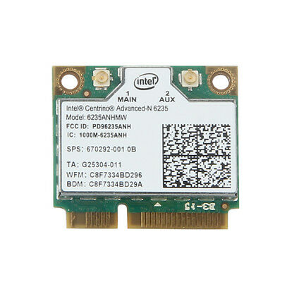 Dell OEM 5K9GJ Intel Advanced-N 6235 802.11a//b//g//n 6235ANHMW BT 4.0 PCIe Half