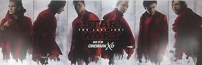 STAR WARS THE LAST JEDI 2017 Cinemark XD Exclusive Promo Mini Movie Poster