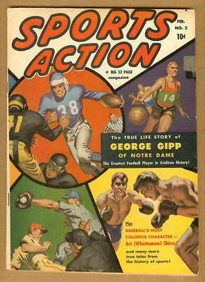 Sports Action #2 VG/F