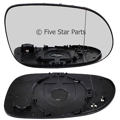 Right Driver side wide angle mirror glass for Mercedes CLK 2002-2010 heated