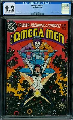 Omega Men 3 CGC 9.2 -  OW/W Pages
