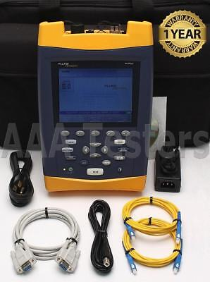 Fluke Networks OF-500 OptiFiber OFTM-5732 SM Fiber OTDR w/ Power Meter VFL OF500