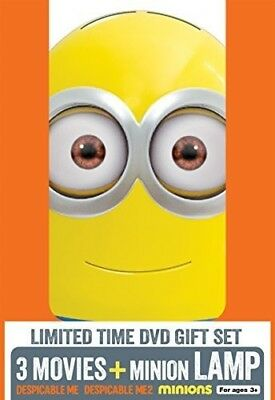 Despicable Me 3 Movie Collection With Minion Lamp (With Minion Lamp) [New DVD]