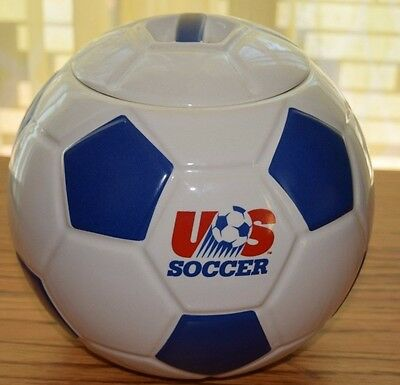 US-SOCCER-BALL-COOKIE-JAR-PROCTER-and-GAMBLE-SPECIAL-EDITION  US-SOCCER-BALL-COO