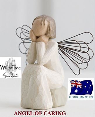 Willow Tree ANGEL OF CARING Figurine By Susan Lordi By Demdaco BRAND NEW IN BOX