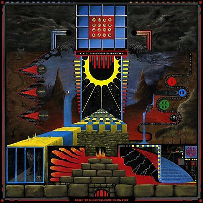 "King Gizzard & The Lizzard Wizard - POLYGONDWANALAND (NEW 12"" VINYL LP)"