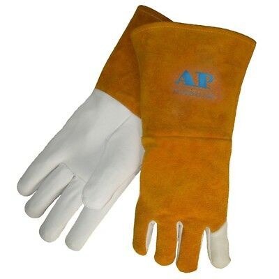 Welding Gloves Wearproof Heat Resistant Weld Industrial Long Gloves Protection