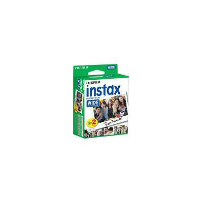 Fujifilm 20-Pack Instax Wide Instant Color Print Film, ISO 800 #16468498