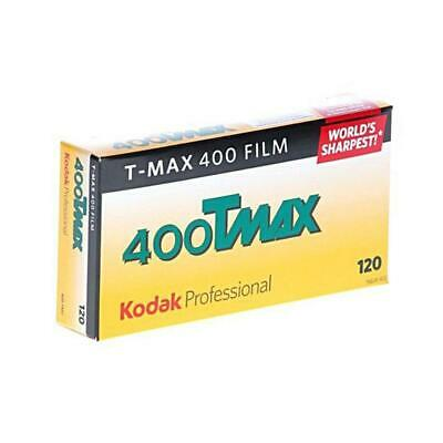 Kodak T-Max 400, 400TMY, Black  White Film, 120 Size, Pack of 5 #8568214