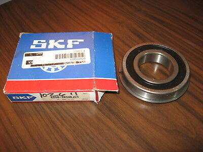 New Surplus SKF 6208-2RSNRJEM Single Row Ball Bearing