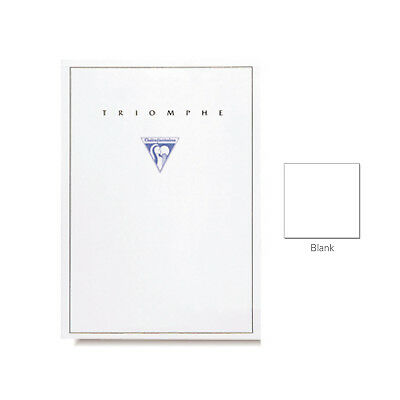"""Clairefontaine """"Triomphe"""" Stationery Tablet, Blank, A5 (5.75"""" x 8.25"""")"""