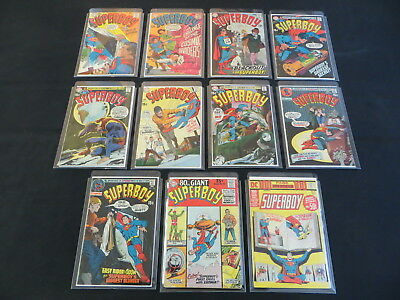 Superboy 11 Issue Silver Age Comic Lot #152-154 158 160 161 164 169 170 + More