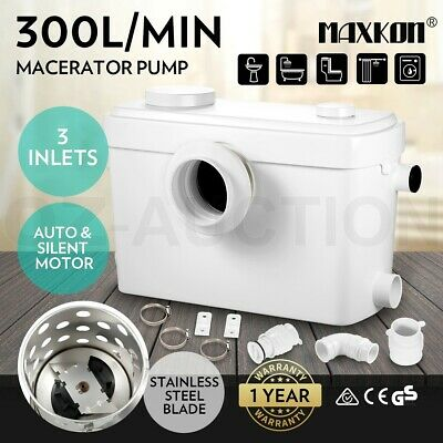 Macerator Sewerage Pump Waste Water Marine Auto Toilet Disposal Unit Laundry