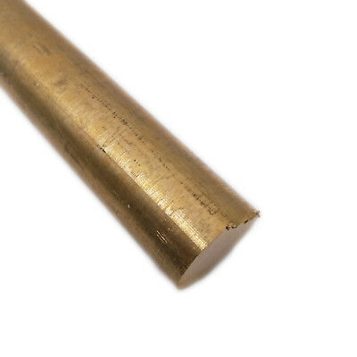 "US Stock 25mm(0.984"") Dia. 100mm(3.94"") Long H62 Brass Bar Round Rod Cylinder"