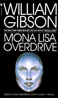 Mona Lisa Overdrive by Gibson, William Paperback Book The Cheap Fast Free Post