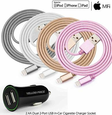 Apple MFI 2A Rapid Fast Charger USB Lightning Cord IOS11+ for iPad Pro/Mini/Air