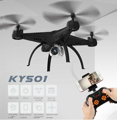Drone AU Wifi RTF 2.4G 4CH RC Quadcopter RC Camera Drone with FPV Camera KY501