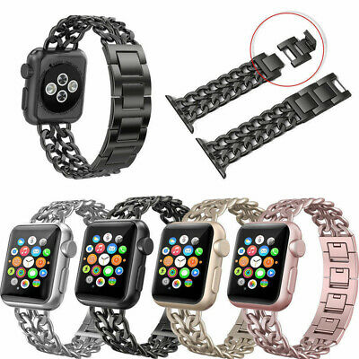 38/42mm Stainless Steel Wrist Watch Band Bracelet Strap For Apple Watch iWatch