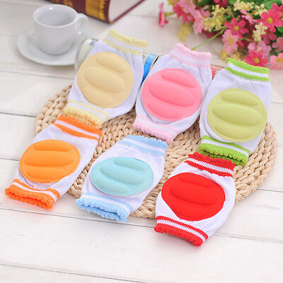 2~5Pairs Wholesale Safety Crawling Pad Infants Toddlers Baby Knee Pads Protector