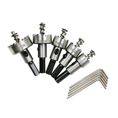 Hole Saw Tooth Kit HSS Steel Drill Bits Cutter Tool Set for Metal Wood Alloy