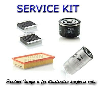 Service Parts for AUDI A4 Air Fuel Cabin Oil Filters