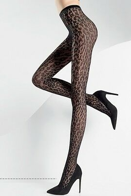 Pierre Mantoux - Collant Tights Jaguar Noir - Large (III/IV) - Haute Couture