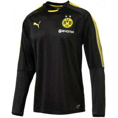 Puma Borussia Dortmund BVB Mens Football Training Sweat Shirt 751775 02 CC26