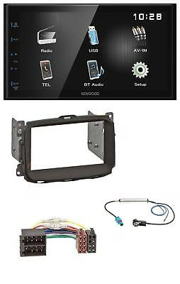 Kenwood Bluetooth MP3 USB AUX 2DIN Autoradio für Alfa Giulietta (2010-2014)