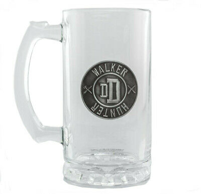 RICK AND MORTY PICKLE RICK METAL LOGO BEER GLASS TANKARD STEIN NEW IN GIFT BOX