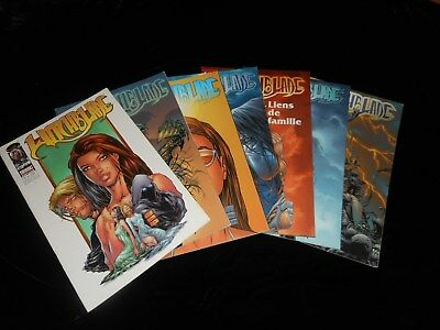 Lot Witchblade (7 tomes) Editions Semic