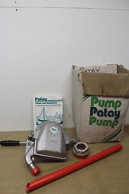 Patay BE45E Barrel Emptying Hand Pump 45 Lpm 4.5 Hm New Old Stock