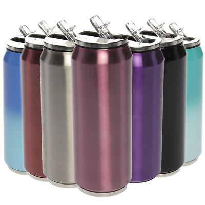 Primula Stainless Steel 17oz Sip Bottle Vacuum Insulated Stay Cold Flip Top Cup