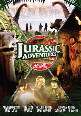 Jurassic Adventures: 4-Movie Collection [New DVD] Anniversary Edition, 2 Pack
