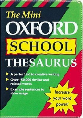 MINI OXFORD SCHOOL THESAURUS (Dictionary) Paperback Book The Cheap Fast Free
