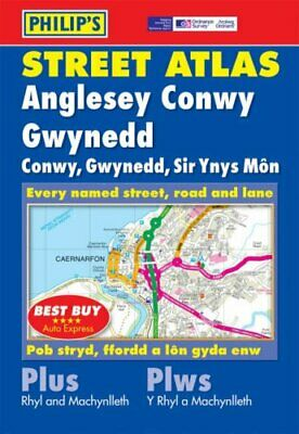 Philip's Street Atlas Anglesey, Conwy and Gwynedd: Pocket (... by None Paperback