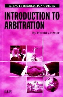 Introduction to Arbitration (Disputes Resolution Guides) Paperback Book The