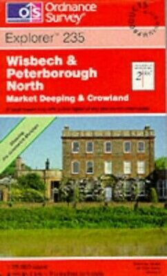 Wisbech and Peterborough North (Explorer... by Ordnance Survey Sheet map, folded